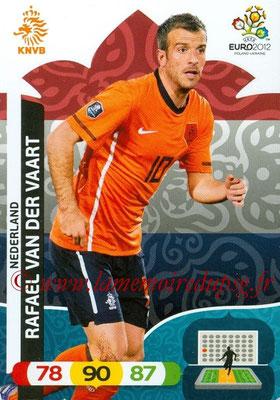 Panini Euro 2012 Cards Adrenalyn XL - N° 138 - Rafael VAN DER VAART (Pays-Bas)