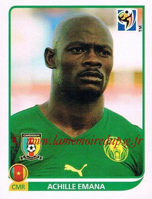 2010 - Panini FIFA World Cup South Africa Stickers - N° 403 - Achille EMANA (Cameroun)