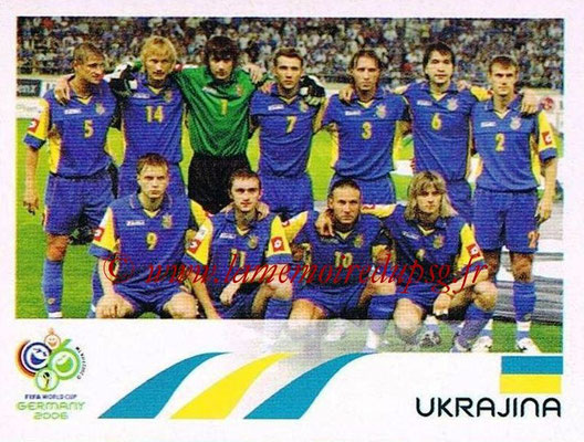 2006 - Panini FIFA World Cup Germany Stickers - N° 549 - Équipe Ukraine