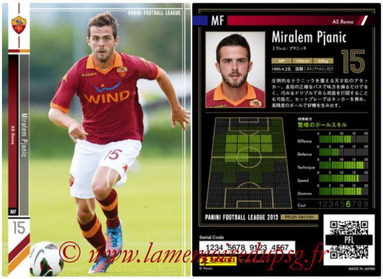 Panini Football League 2013 - PFL01 - N° 041 - Miralem Pjanic ( AS Roma )