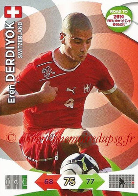 2014 - Panini Road to FIFA World Cup Brazil Adrenalyn XL - N° 182 - Eren DERDIYOK (Suisse)