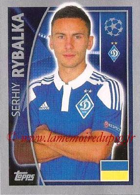 2015-16 - Topps UEFA Champions League Stickers - N° 485 - Serhiy RYBALKA (FC Dynamo Kiev)