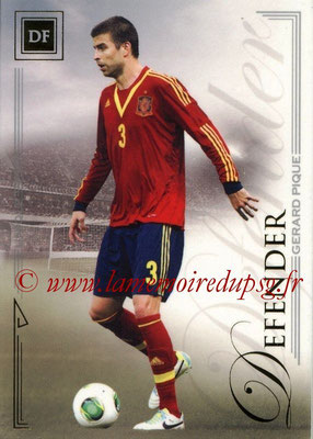 2014 - Futera World Football Unique - N° 026 - Gerard PIQUE (Defender)