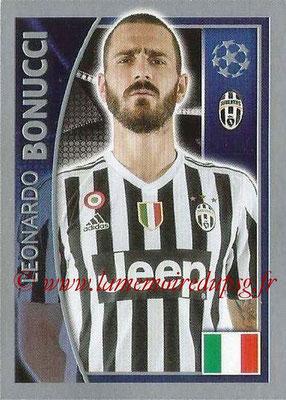 2015-16 - Topps UEFA Champions League Stickers - N° 236 - Leonardo BONUCCI (Juventus FC)