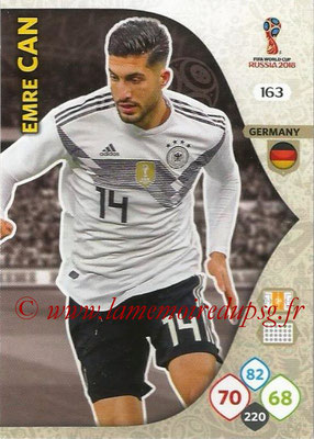2018 - Panini FIFA World Cup Russia Adrenalyn XL - N° 163 - Emre CAN (Allemagne)