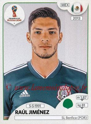 2018 - Panini FIFA World Cup Russia Stickers - N° 468 - Raul JIMENEZ (Mexique)