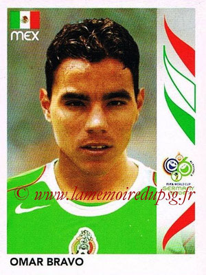 2006 - Panini FIFA World Cup Germany Stickers - N° 261 - Omar BRAVO (Méxique)