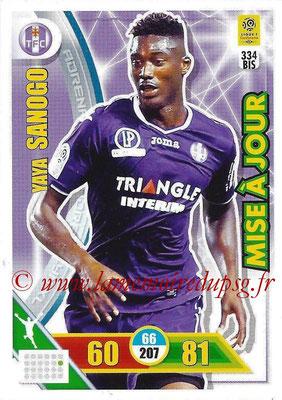 2017-18 - Panini Adrenalyn XL Ligue 1 - N° 334bis - Yaya SANOGO (Toulouse) (Mise à jour)