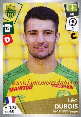 2017-18 - Panini Ligue 1 Stickers - N° 317 - Léo DUBOIS (Nantes)