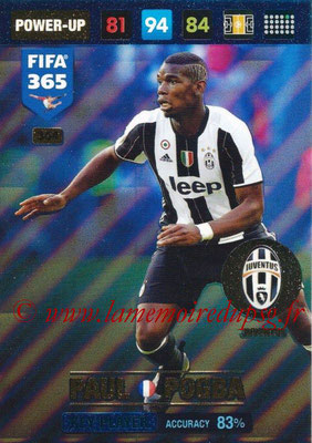 2016-17 - Panini Adrenalyn XL FIFA 365 - N° 364 - Paul POGBA (Juventus FC) (Key Player)
