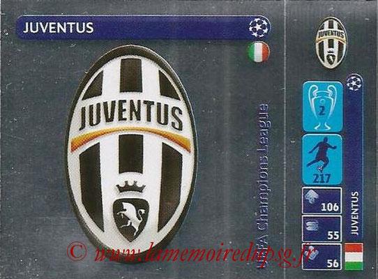 2014-15 - Panini Champions League N° 006 - Logo Juventus