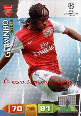 2011-12 - Panini Champions League Cards - N° 020 - GERVINHO (Arsenal FC)