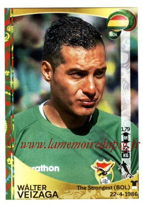 Panini Copa America Centenario USA 2016 Stickers - N° 388 - Walter VEIZAGA (Bolivie)