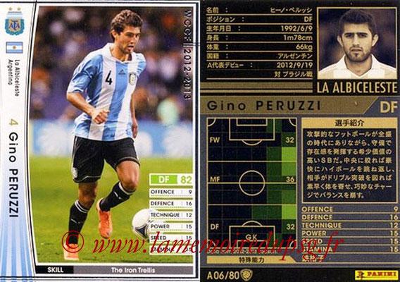 2012-13 - WCCF - N° A06 - Gino PERUZZI (Argentine)