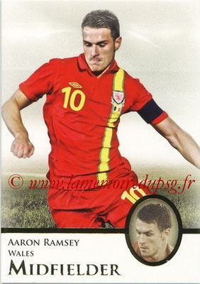 2013 - Futera World Football Unique - N° 051 - Aaron RAMSEY (Pays de Galles) (Midfielder)