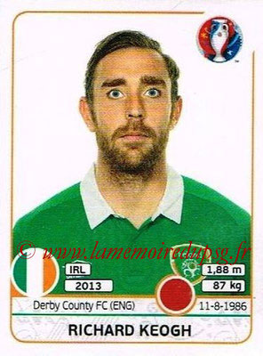 Panini Euro 2016 Stickers - N° 520 - Richard KEOGH (République d'Irlande)