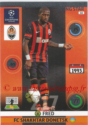 2014-15 - Adrenalyn XL champions League N° 242 - FRED (FC Shakhtar Donetsk) (Rising star)