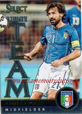 2015 - Panini Select Soccer - N° UT09 - Andrea PIRLO (Italie) (Ultimate Team)