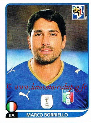 2010 - Panini FIFA World Cup South Africa Stickers - N° 426 - Marco BORRIELLO (Italie)
