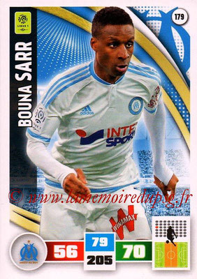 2016-17 - Panini Adrenalyn XL Ligue 1 - N° 179 - Bouna SARR (Marseille)