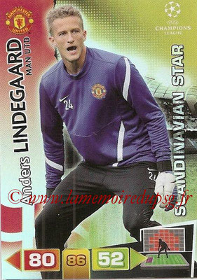 2011-12 - Panini Champions League Cards - N° 358 - Anders LINDEGAARD (Manchester United FC) (Scandinavian Star)