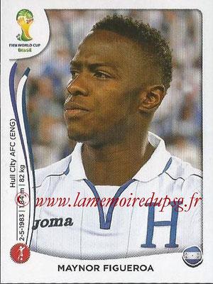 2014 - Panini FIFA World Cup Brazil Stickers - N° 398 - Maynor FIGUEROA (Honduras)
