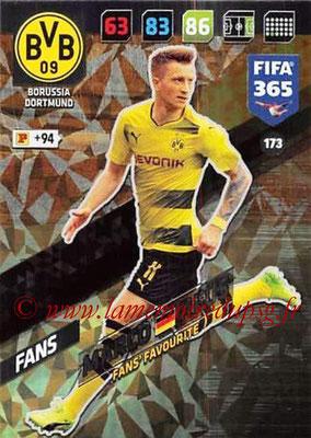 2017-18 - Panini FIFA 365 Cards - N° 173 - Marco REUS (Borussia Dortmund) (Fans' Favourite)