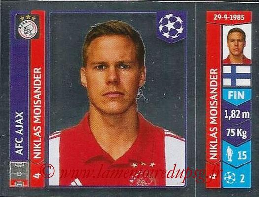 2014-15 - Panini Champions League N° 456 - Nicklas MOISANDER (AFC Ajax)