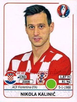 Panini Euro 2016 Stickers - N° 455 - Nikola KALINIC (Croatie)