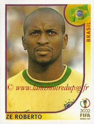 2002 - Panini FIFA World Cup Stickers - N° 177 - Ze ROBERTO (Brésil)