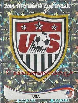 2014 - Panini FIFA World Cup Brazil Stickers - N° 545 - Ecusson Etats-Unis