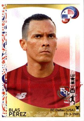 Panini Copa America Centenario USA 2016 Stickers - N° 369 - Blas PEREZ (Panama)