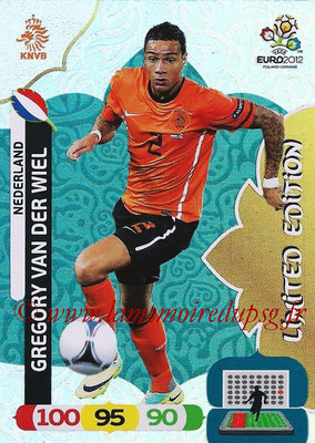 Panini Euro 2012 Cards Adrenalyn XL - N° LE31 - Gregory VAN DER WIEL (Pays-Bas) (Limited Edition)