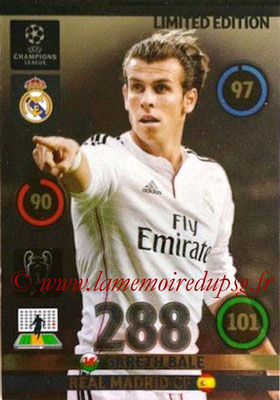 2014-15 - Adrenalyn XL champions League N° LE-GB - Gareth BALE (Real Madrid) (Limited Edition)