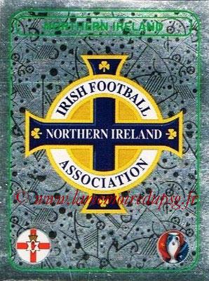 Panini Euro 2016 Stickers - N° 240 - Logo Irlande du Nord