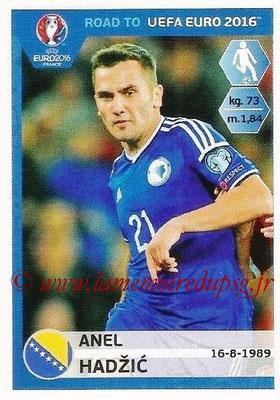 Panini Road to Euro 2016 Stickers - N° 024 - Anel HADZIC (Bosnie Herzégovine)