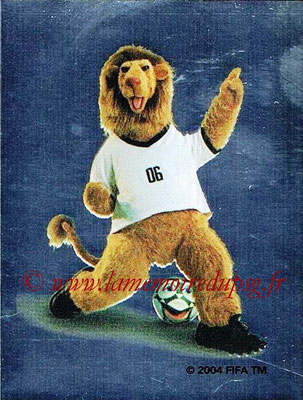 2006 - Panini FIFA World Cup Germany Stickers - N° 002 - Mascotte officielle