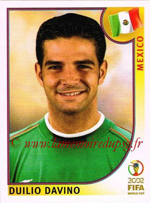 2002 - Panini FIFA World Cup Stickers - N° 500 - Duilio DAVINO (Mexique)