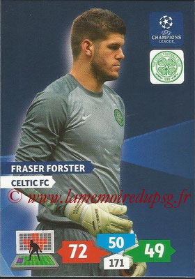2013-14 - Adrenalyn XL champions League N° 109 - Fraser FORSTER (Celtic FC)