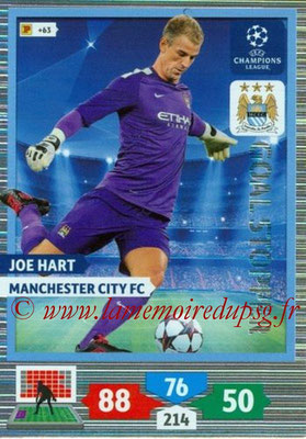 2013-14 - Adrenalyn XL champions League N° 326 - Joe HART (Manchester City FC) (Goal Stopper)