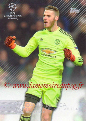 2015-16 - Topps UEFA Champions League Showcase Soccer - N° 035 - David DE GEA (Manchester United FC)