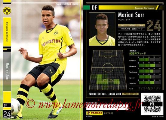 Panini Football League 2014 - PFL06 - N° 094 - Marian SARR (Borussia Dortmund)