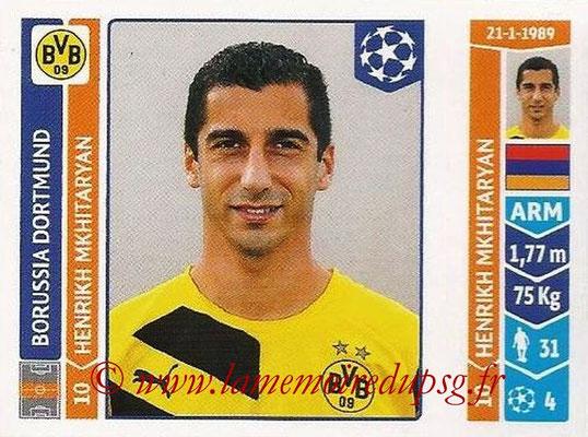 2014-15 - Panini Champions League N° 279 - Henrikh MKHIATRYAN (Borussia Dortmund)