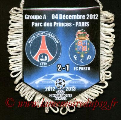Fanion  PSG-Porto  2012-13