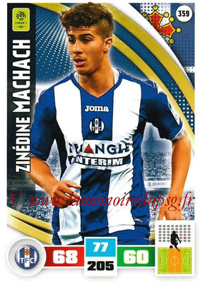 2016-17 - Panini Adrenalyn XL Ligue 1 - N° 359 - Zindedine MACHACH (Toulouse)