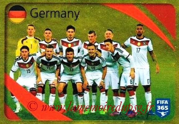 2015-16 - Panini FIFA 365 Stickers - N° 853 - Allemagne (Brillante)