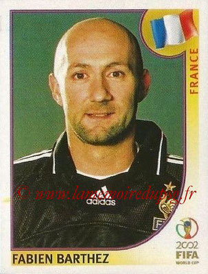 2002 - Panini FIFA World Cup Stickers - N° 027 - Fabien BARTHEZ (France)