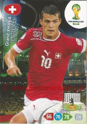 2014 - Panini FIFA World Cup Brazil Adrenalyn XL - N° 301 - Granit XHAKA (Suisse)