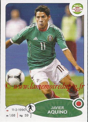 2014 - Panini Road to FIFA World Cup Brazil Stickers - N° 249 - Javier AQUINO (Mexique)