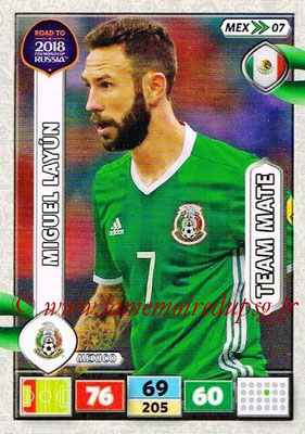 2018 - Panini Road to FIFA World Cup Russia Adrenalyn XL - N° MEX07 - Miguel LAYUN (Mexique)